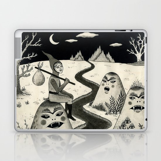 Weary Vagabond  Laptop & iPad Skin