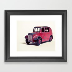 Red Classic Framed Art Print