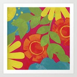 Bold and Bright 3 Art Print