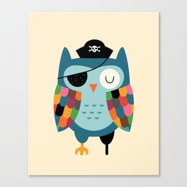 Captain Whooo Canvas Print