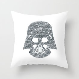 Lines of Vader Throw Pillow