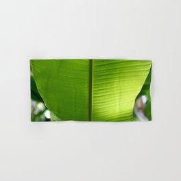 Banana Leaf Tropical Summer 2017 Hand & Bath Towel