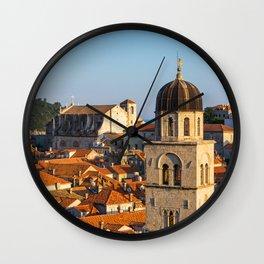 DUBROVNIK 04 Wall Clock