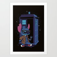 The 626th Doctor Art Print