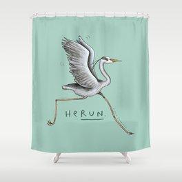 HeRUN Shower Curtain