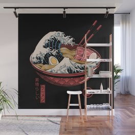 Great Ramen Wave Wall Mural