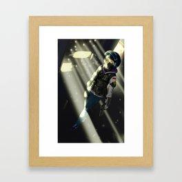 IQ Framed Art Print