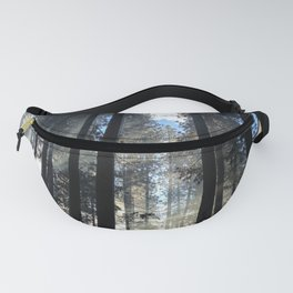 Sunlight Shines Through the Trees Fanny Pack