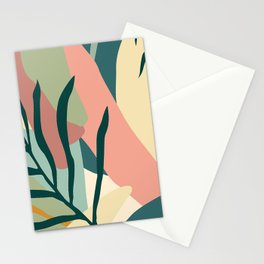 Nature Abstract Art In Organic, Earth-Tone Hues Stationery Cards