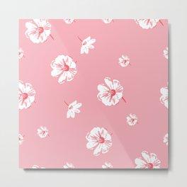 Pink Daisies Metal Print