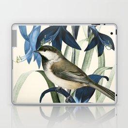 Little Bird and Flowers II Laptop & iPad Skin