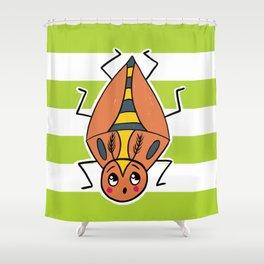 Tom Beetle Shower Curtain