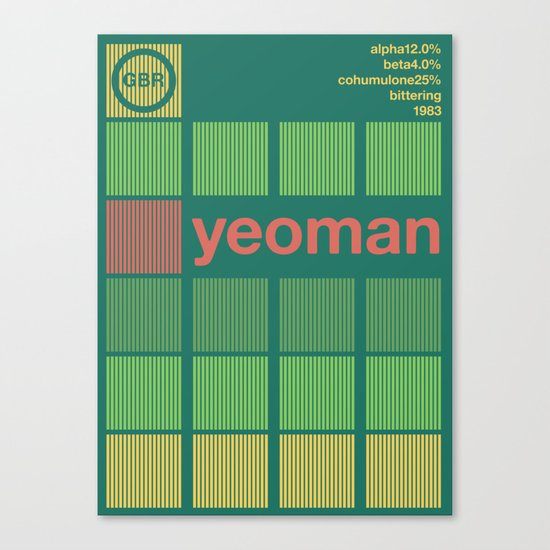 yeoman single hop Canvas Print