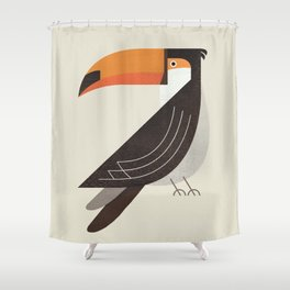 Whimsy Toucan Shower Curtain