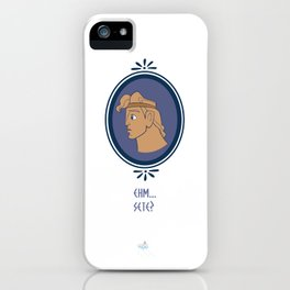 Bibitone greco iPhone Case