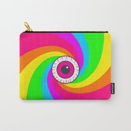 Neon Gaze Carry-All Pouch