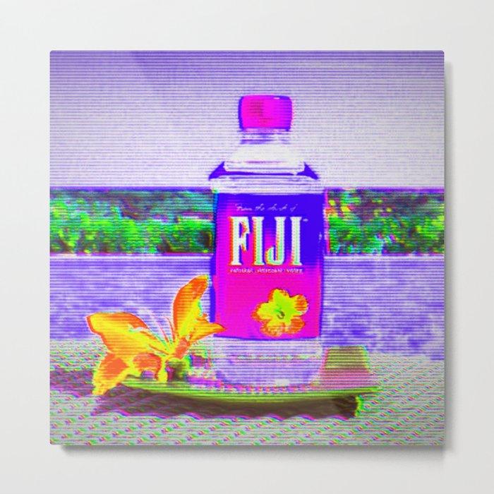 Fiji Water Metal Print