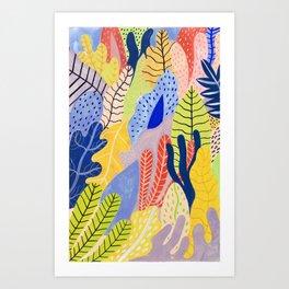 Candy Jungle 2 Art Print