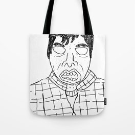 Douche Face Tote Bag