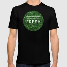 Stay Fresh Mens Fitted Tee Black MEDIUM