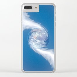Center of Attraction Clear iPhone Case