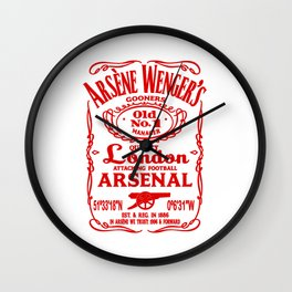 arsene wenger arsenal Wall Clock