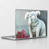 """haunted mansion Laptop & iPad Skins featuring Disneyland Haunted Mansion inspired """"Rosie""""  by ArtisticAtrocities"""
