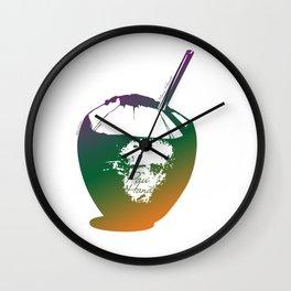 Pau Hana. Maui, Hawaii Wall Clock