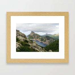 Cap de Formentor Framed Art Print