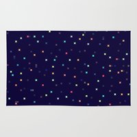 constellations Area & Throw Rugs featuring Constellations by Jenna Mhairi