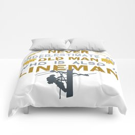 Old Man - A Lineman Comforters