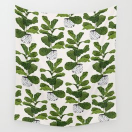 Fiddle leaf fig Tree Wall Tapestry