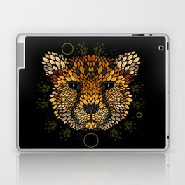 Cheetah Face Laptop & iPad Skin