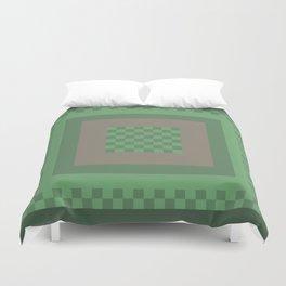 Green All Over Duvet Cover