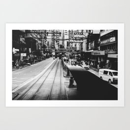 Canal Road West Art Print