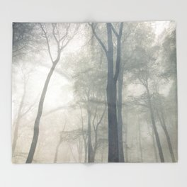 Cathedral of Trees Throw Blanket