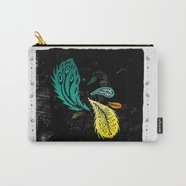 A Flock of Feathers Carry-All Pouch