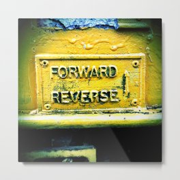 backward & forwards Metal Print