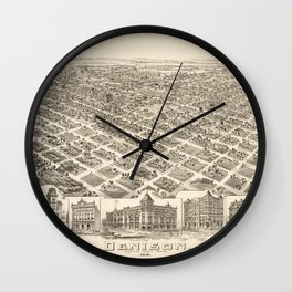 Denison 1891 Wall Clock