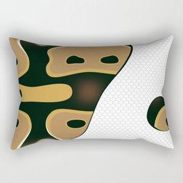 Piebald Ball Python Rectangular Pillow