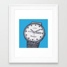 Mido Time! Framed Art Print