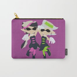 Callie & Marie (Pink) - Splatoon Carry-All Pouch