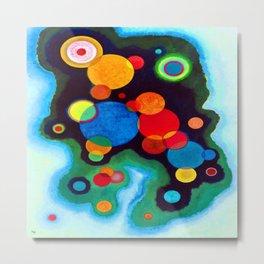 Wassily Kandinsky Deepened Impulse Metal Print
