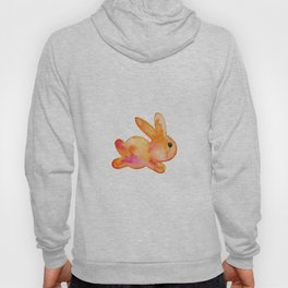 Little Bunny No. 1a by kathy Morton Stanion Hoody
