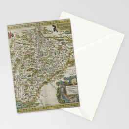 Vintage Map - Ortelius: Theatrum Orbis Terrarum (1606) - Salzburg, Austria Stationery Cards