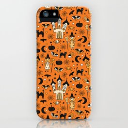 Halloween Witch House iPhone Case