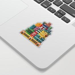 La Perla, San Juan (Puerto Rico) Sticker