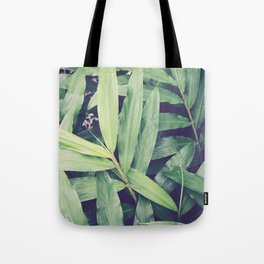 Ginger Leaves Tote Bag
