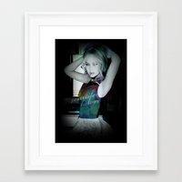 jennifer lawrence Framed Art Prints featuring Jennifer Lawrence by JenniferLawrenceGermany
