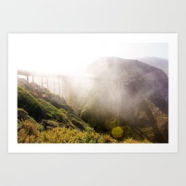 Foggy Day in the Bay Art Print